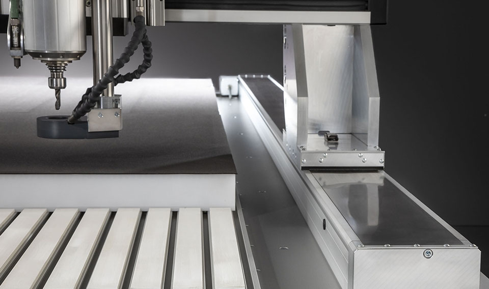 CNC milling machine Premium – Linear guides
