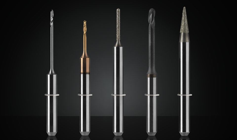 vhf dental milling cutters
